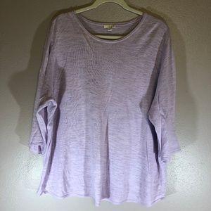 J Jill XL Lavender Light Sweater